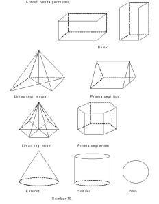 bidang geometris